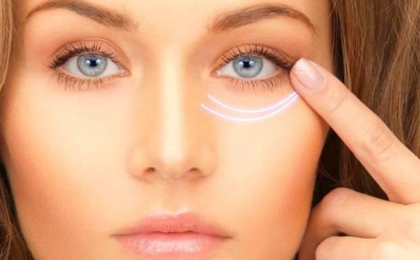درمان تیرگی دور چشم با نوعی ماسک زیبایی