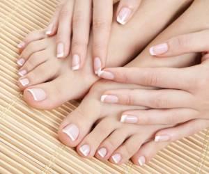 سفید کردن و جوانی طبیعی دست و پا در خانه + روش