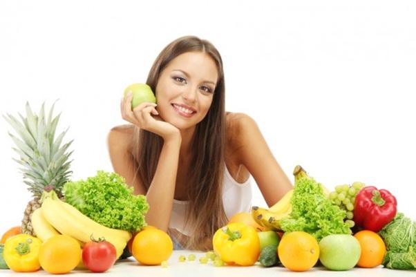 Image result for یک رژیم غذایی سالم برای مو