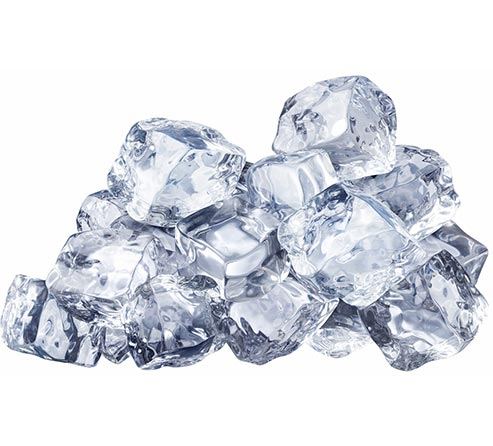 یخ برای درمان تبخال