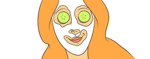 چروک زیر چشم در جوانی : ماسک سفیده تخم مرغ