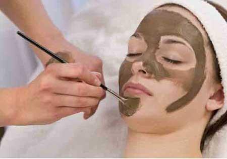 ماسک صورت با استفاده از شکلات