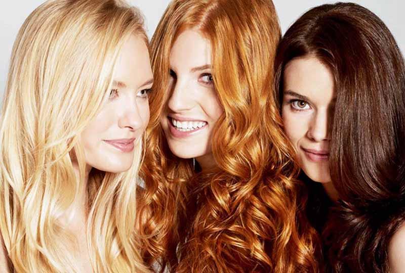 چه رنگی به موهایتان میآید